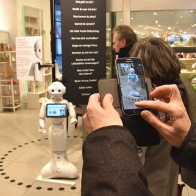 Ein Roboter als Kundenberater?