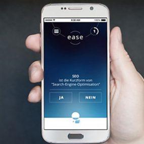 Lern-App EASE – Erste Schritte in die Digitalisierung