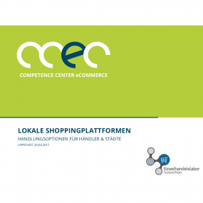 Workshop lokale Shoppingplattformen, Präsentation