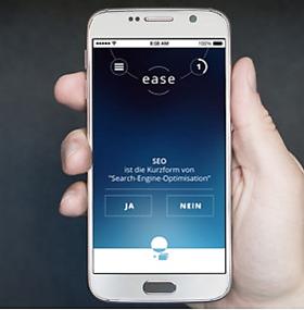 Lern-App EASE – Erste Schritte in die Digitalisierung (iOS)