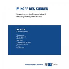 Checkliste für eine clever gestaltete Ladenfläche (IHK Potsdam)