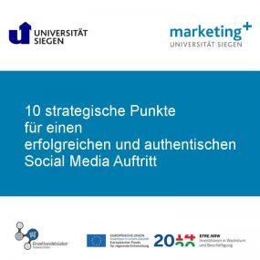 Checkliste Social Media Auftritt