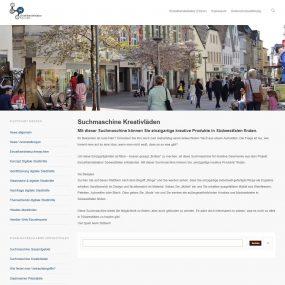 Suchmaschine für kreativen Einzelhandel in Südwestfalen